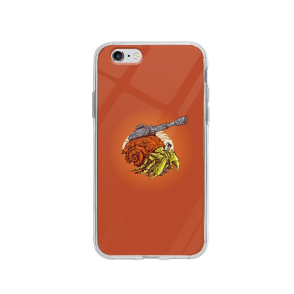 Coque Crabe Machine De Guerre pour iPhone 6 - Transparent