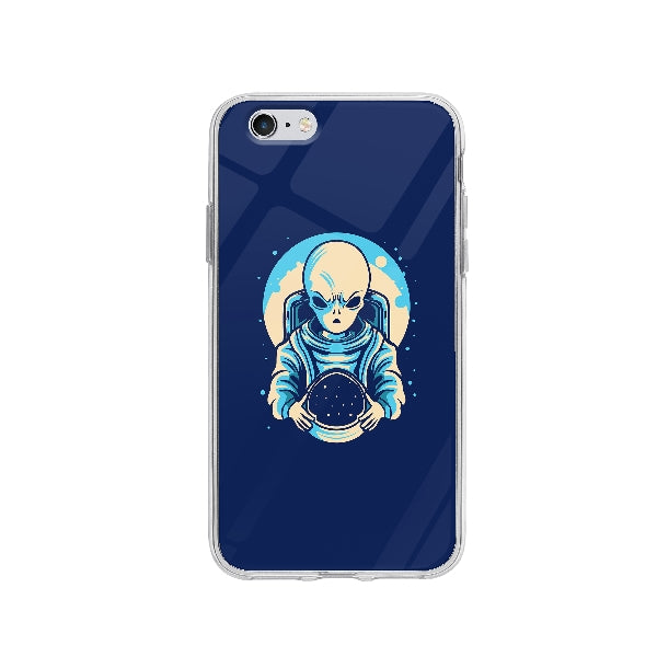 Coque Extraterrestre Astronaute pour iPhone 6 - Transparent