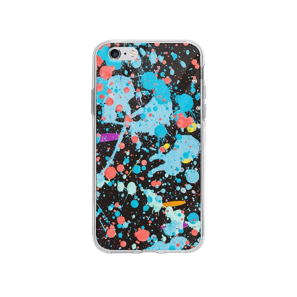 Coque Graffiti Coloré pour iPhone 6S Plus - Transparent