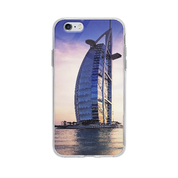 Coque Burj Al Arab Dubai pour iPhone 6S - Transparent