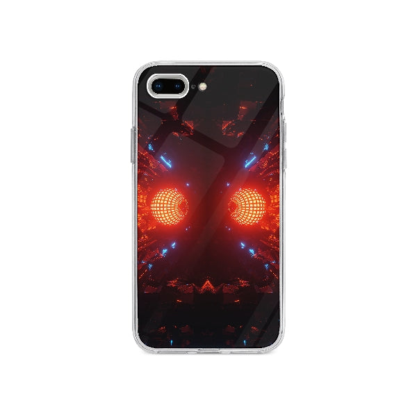 Coque Boule Disco Futuristique pour iPhone 7 Plus - Transparent