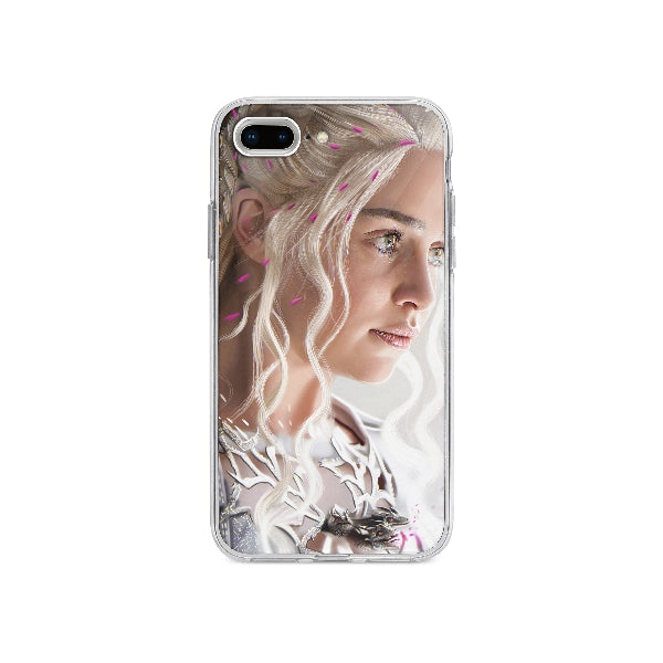 Coque Daenerys Targaryen Game Of Thrones pour iPhone 7 Plus - Transparent