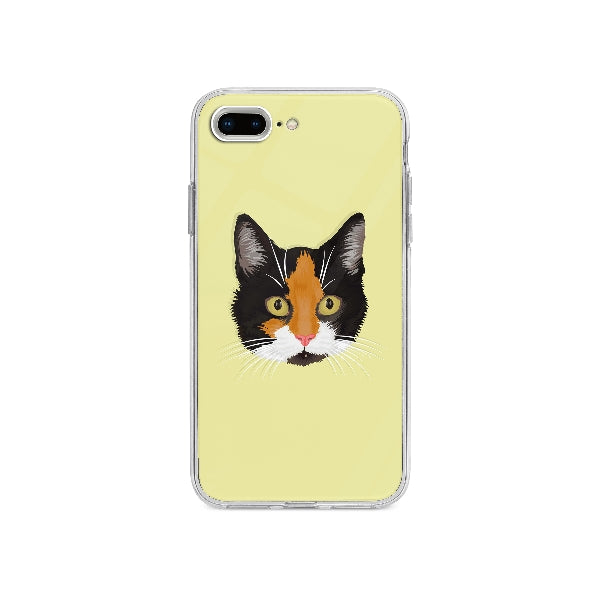 Coque Dessin Chat A La Main pour iPhone 7 Plus - Transparent