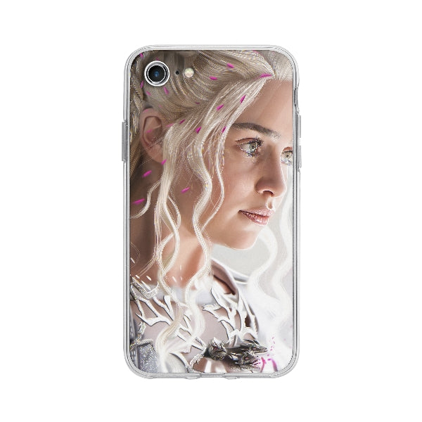 Coque Daenerys Targaryen Game Of Thrones pour iPhone 7 - Transparent