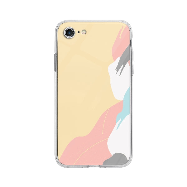 Coque Fond Abstrait pour iPhone 7 - Transparent