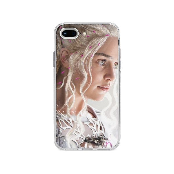 Coque Daenerys Targaryen Game Of Thrones pour iPhone 8 Plus - Transparent