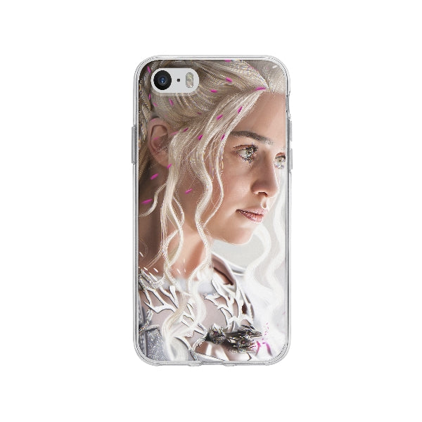 Coque Daenerys Targaryen Game Of Thrones pour iPhone SE - Transparent