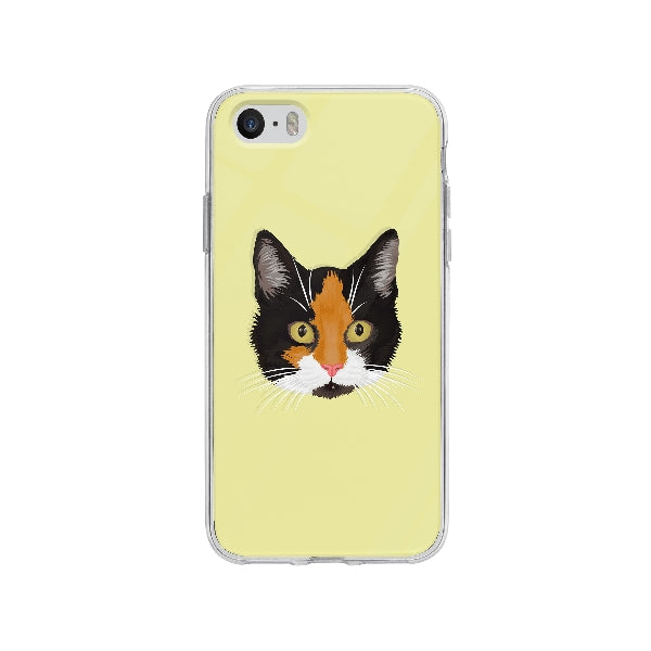 Coque Dessin Chat A La Main pour iPhone SE - Transparent