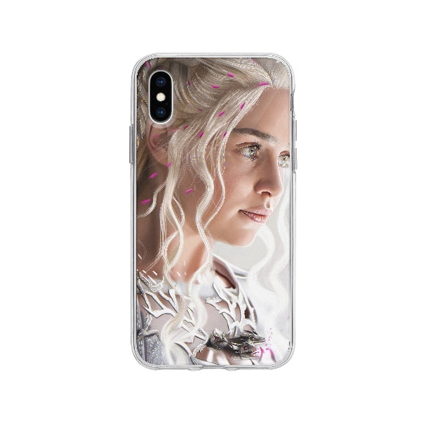 Coque Daenerys Targaryen Game Of Thrones pour iPhone X - Transparent
