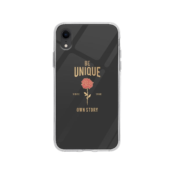 Coque Be Unique pour iPhone XR - Transparent