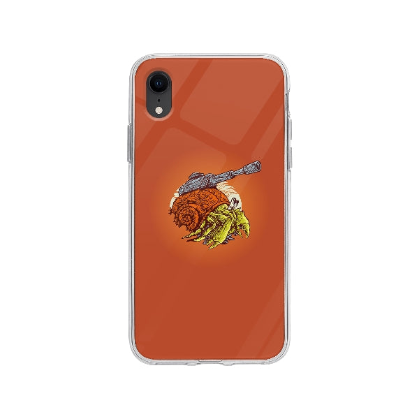 Coque Crabe Machine De Guerre pour iPhone XR - Transparent