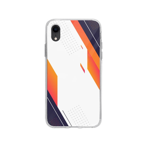 Coque Design Abstrait pour iPhone XR - Transparent