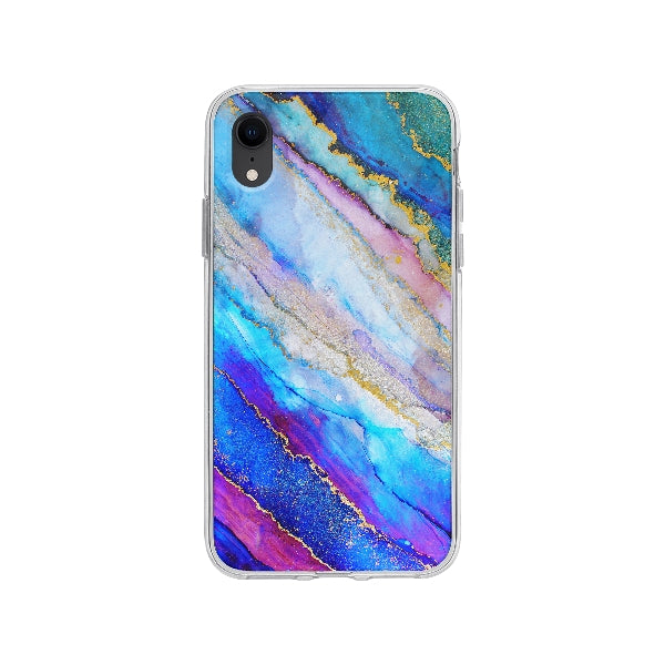 Coque Encre Abstrait pour iPhone XR - Transparent