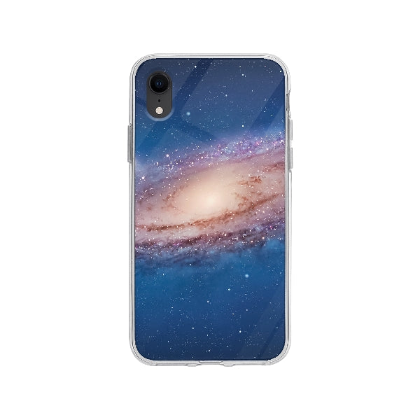 Coque Galaxy pour iPhone XR - Transparent