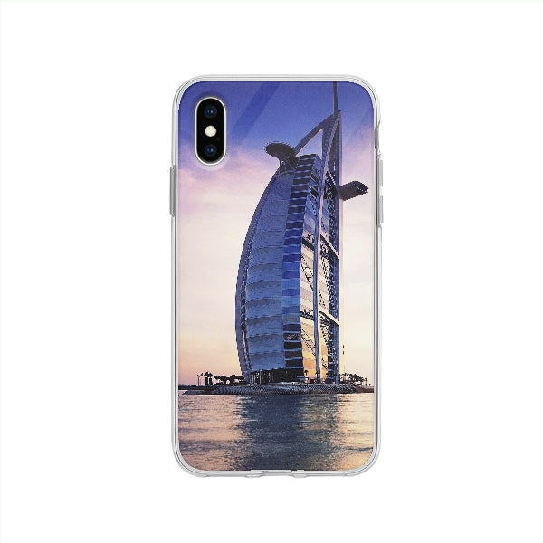 Coque Burj Al Arab Dubai pour iPhone XS - Transparent