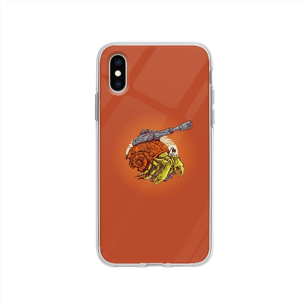 Coque Crabe Machine De Guerre pour iPhone XS - Transparent