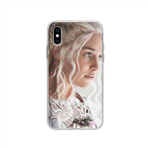 Coque Daenerys Targaryen Game Of Thrones pour iPhone XS - Transparent