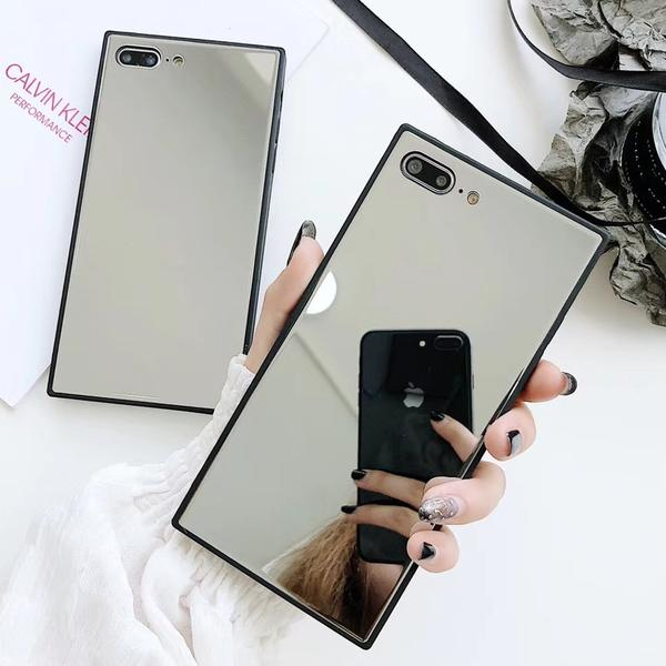 coque iphone xr miroir