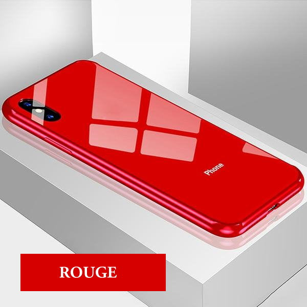 coque silicone rouge iphone xs