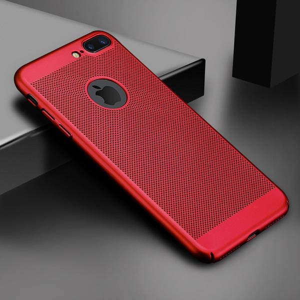 Coque ultra slim pour iPhone 8 Plus Rouge