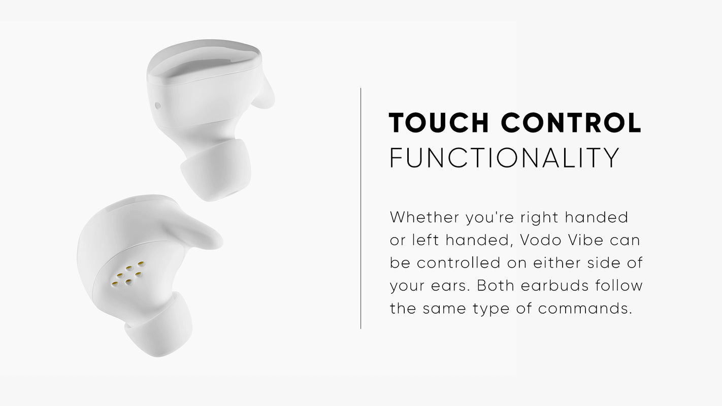 Touch Control Functionality