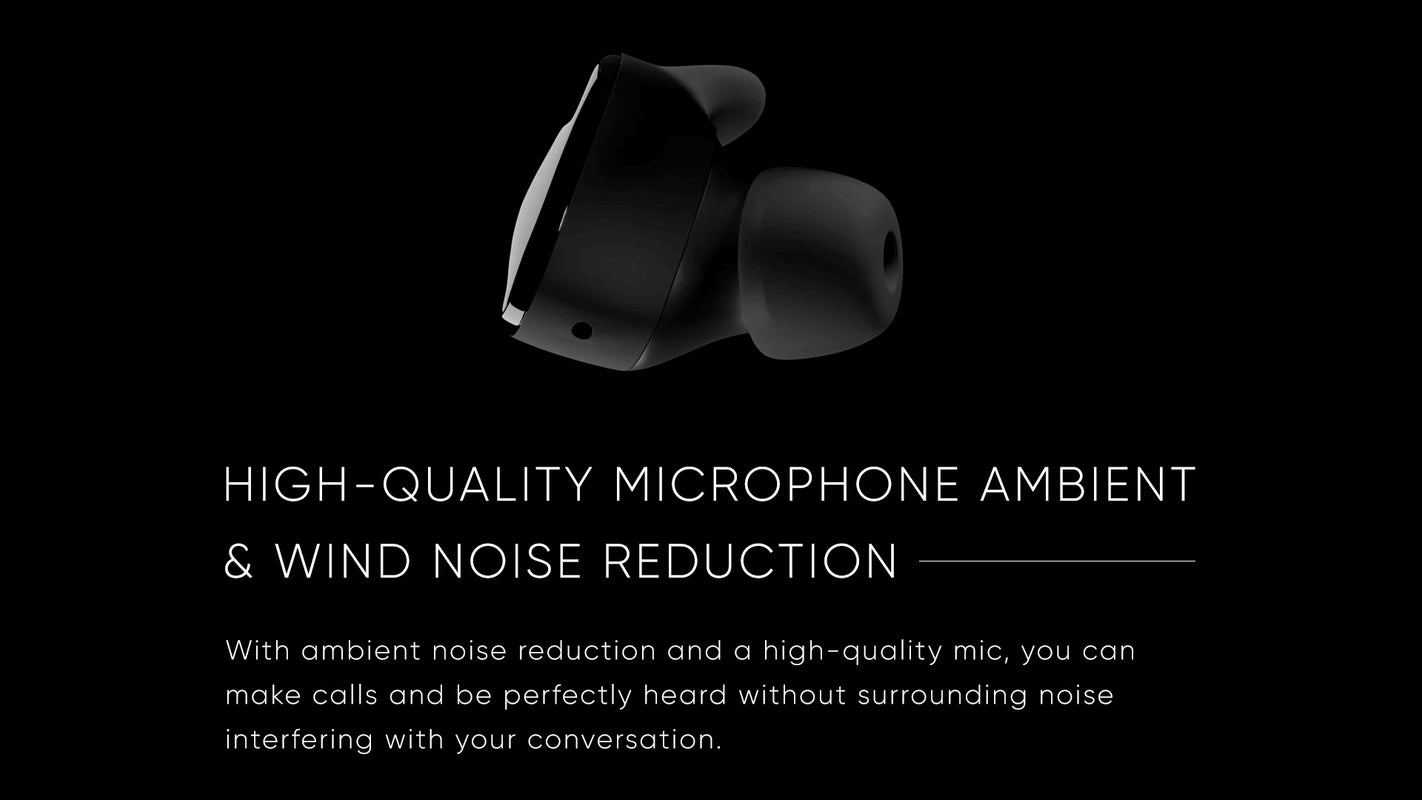High-Quality Microphone Ambient & Wind Noise Reduction