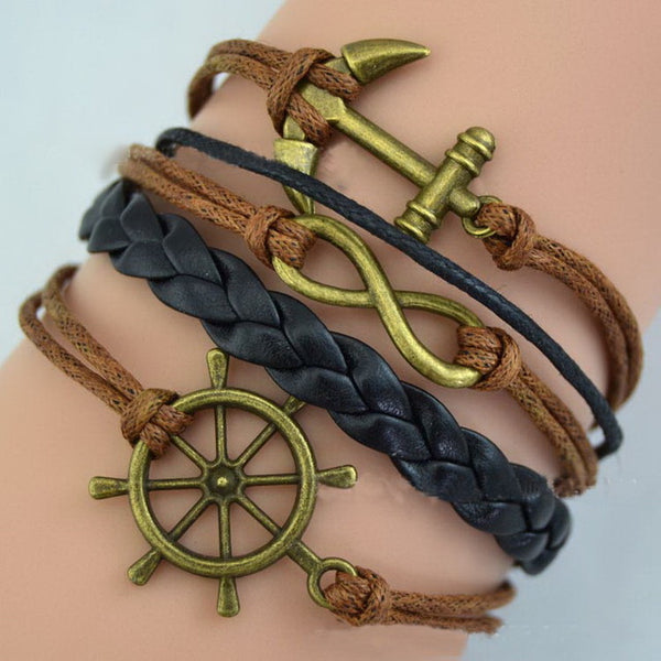 Boho Triangle Braided Bracelet