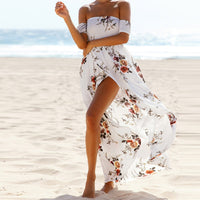 Boho Slash Dress