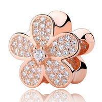 World Rose Gold Charms