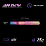 Jeff Smith 90% Tungsten Urban Grip Darts Set