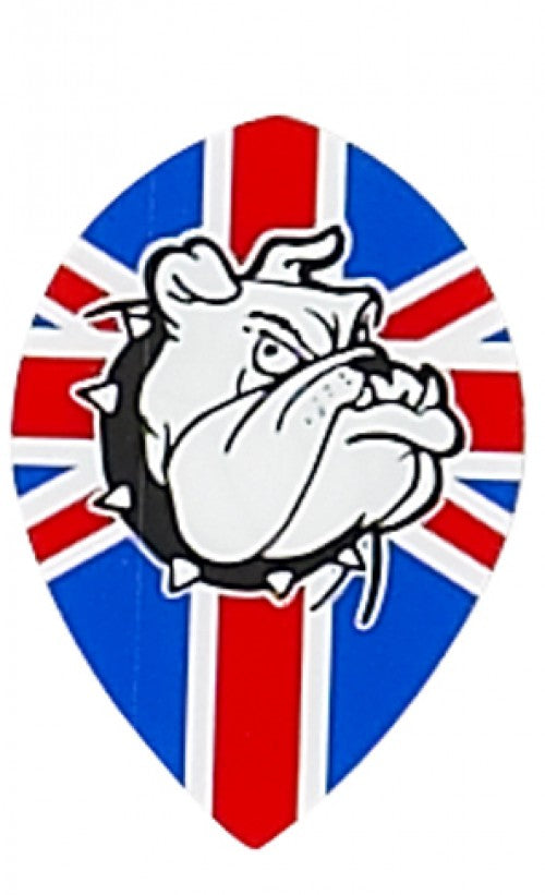 Ruthless British Bulldog Pear Shaped Flight - Aussie Dart Supplies Online