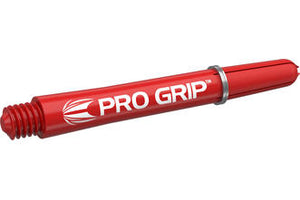 Target Pro Grip Red Shafts