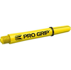 Target Pro Grip Yellow Shafts