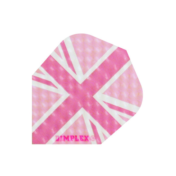 Dimplex Std Flights - Pink Union Jack