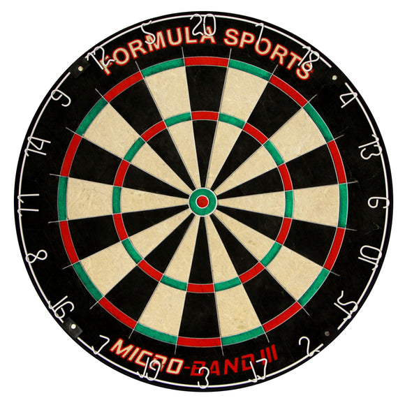 Formula Microband 3 Bladed Dartboard