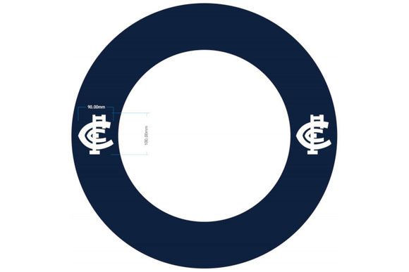 AFL Carlton Dartboard Surround