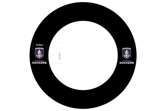 AFL Fremantle Dockers Dartboard Surround