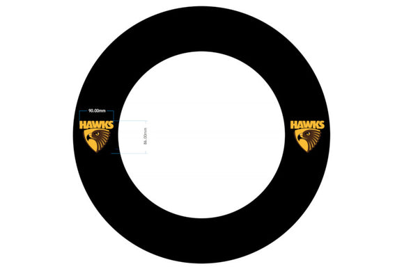 AFL Hawthorn Dartboard Surround