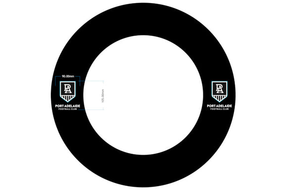 AFL Port Adelaide Dartboard Surround