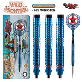 Wild Frontier Trailblazer Steel Tip Dart Set-90% Tungsten Barrels