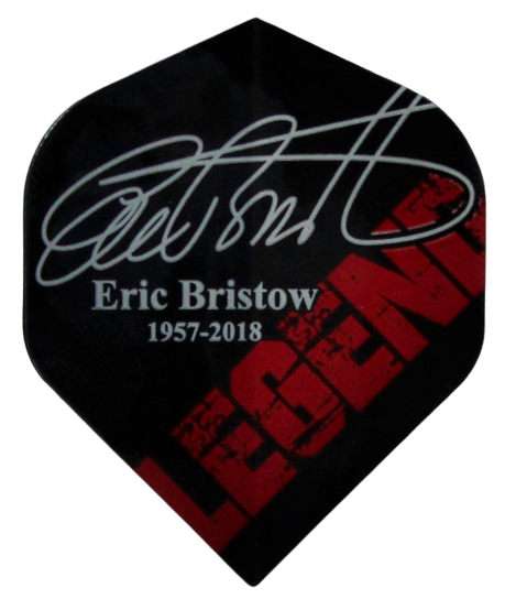 Eric Bristow No2 STD Signature 1957-2018 Flight Set