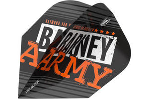 RAYMOND VAN BARNEVELD BARNEY ARMY BLACK NO.6 FLIGHTS