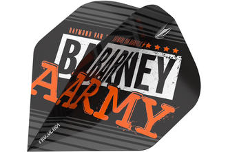 RAYMOND VAN BARNEVELD BARNEY ARMY BLACK NO.2 BIG WING FLIGHTS