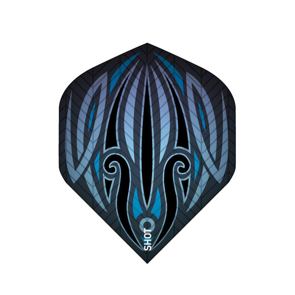 Raven Small Standard 100 Micron Flights - Aussie Dart Supplies Online
