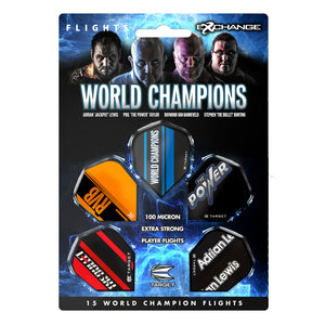 Target World Champions Dart Flight multipack