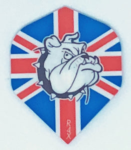 Ruthless British Bulldog Standard Flights - Aussie Dart Supplies Online