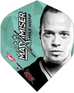 Max Hopp Full Face Standard Flights - Aussie Dart Supplies Online