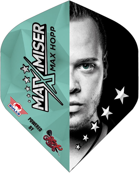 Max Hopp Half Face Standard Flight - Aussie Dart Supplies Online
