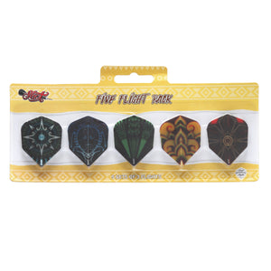 Shot Five Flight Pack - Aussie Dart Supplies Online