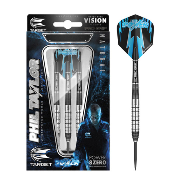 Target Phil Taylor Power 8-ZERO Gen 2 Darts Set